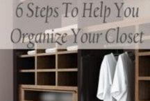CLOSET REVIVAL/ORGANIZATION / by Missy Shaffer