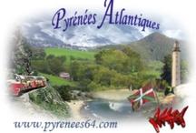 Pirinio Atlantikoetako / Navarra, Pais Vasco / Pays basque, Gascogne (Béarn, Landes, Gers, Bigorre) / by Papy Réseau