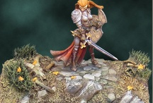 Miniatures / Modeling and painting for Warhammer and more. / by Valerie Illuminati