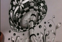 ZenTangle Instructions /Steps /How To /Patterns / Zentangle Instructions & Examples AKA- Zendoodle, Tangle, Doodle, Zentangles, Blahzyblahzyblahblahblah lol / by Irish Vengeance