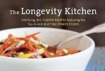 My Cookbooks / I'm the proud co-author with Mat Edelson of The Longevity Kitchen, The Cancer Fighting Kitchen, and One Bite at a Time-- designed to bring health to your plate through the alchemy of yum! / by Rebecca Katz