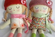 Hello Dolly... well hello Dolly! / diy doll and stuff toy collection / by Carmel Aguirre