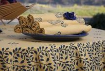 Printed Cloth Napkins / Cloth Table Napkins -  Printed Cotton Napkins / by Attiser