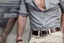 Men's shirts and forearms / for style and inspiration / by Max Parta