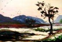 Landscapes / by Michelle de Villiers Art and Stories