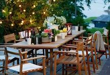 Dining Outdoors / We love dining al fresco! / by Wayfair.com