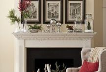 1 Mantel - 6 Ways / Dress up the centerpiece of your living room this season in festive style. / by Wayfair.com