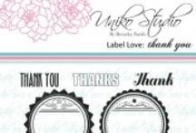 Uniko Studio Label Love: Thank you / by Beverley Brown
