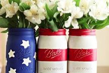 4th of July Craft Ideas / Decorate a star-spangled home or party for the 4th of July with these simple DIY crafts & recipes!  / by Wayfair.com