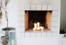 Decorating an Empty Fireplace / Discover creative ways to turn an empty (or unused) hearth into a dazzling masterpiece! http://wayfair.ly/1alVnGr / by Wayfair.com