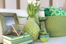 St. Patrick's Day!  / Festive green #decor & #DIY crafts inspired by St. Patrick's Day!  / by Wayfair.com