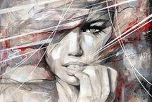 paint strokes / by R *kinky minx*