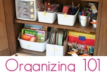 ☛Organize Your Homeschool and Home / by Lisa  @ Back2SimpleLife Farms