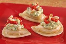 Party Starters / Pierogy Appetizers! / by Mrs. T's Pierogies
