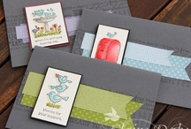 Beautiful Stampin Up ideas / by Pauline Kolochuk
