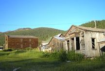 SouthWest Montana Ghost Towns / SouthWest Montana is full of ghost towns and history / by SouthWest Montana