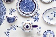 Pretty in Blue and White / by Leeanne Whitchurch