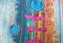 Sewing & stiching / I love threads and fabrics and colors! / by Hands And Heart Monica Zúñiga