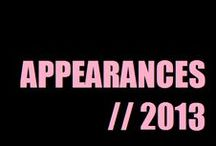 Appareances (2013) / by Alesha Dixon (aleshaworld.com)