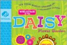 Daisy Flower Garden / Find the fun in gardening with Amazing Daisy and the flower friends.  You'll read an exciting story and learn all about making things grow! / by GSKSMO Programs