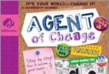 Agent of Change / A fashion-savvy spider named Dez will show you how you and your friends can combine your own power into team power and then use it to generate community power. / by GSKSMO Programs