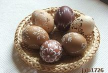 easter and eggs / by Jarka P