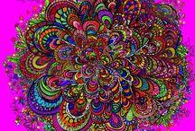 Coloring pages, Kleurplaat, inspiratie / Coloring, kleuren, adult, zwart wit tekeningen, free printable, printen, hobby, inspiratie, school / by Martine