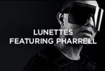 Moncler Lunettes featuring Pharrell Williams / The world is about to see itself through the eyes of Moncler and Pharrell Williams / by Moncler
