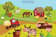 Háziállatok / Farm animals / by Jolán Szabó