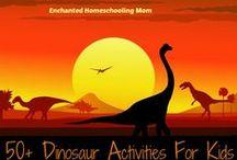 Dinók / Dinosaurs / by Jolán Szabó