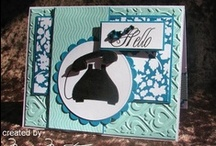 Cards General / Hand made cards general or mixed themes / by Marg Mortimer