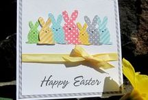 Easter Cards / Handmade original Easter theme cards / by Marg Mortimer