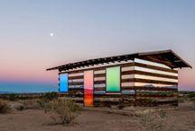Cabins, stugas, farm pavillons, cottages, refugios, ranchos, treehouses, barns... / by Francois Toutssaint LaFayette
