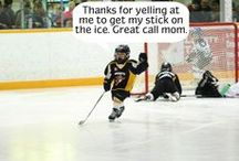 Hockey Mom / Hockey stuff / by Natalie Abel