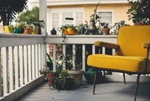 Balcony & Outdoors / by Paula K
