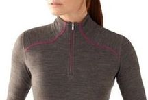 Women's Base & Middle Layers / T-shirt, Thermal, and Light Fleece suggestions for Women from Thomson Safaris. Combine moisture wicking base layers and insulating middle layers for maximum warmth / by Thomson Treks