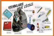 FLE Lexique de l'École / by parlefr