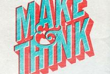 Typographic Inspiration / by Mind Control Industries