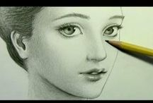 drawing manga / by Aude Schwartz Gillmett