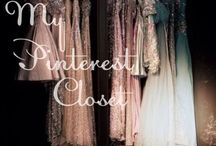 "My Pinterest Closet. / ""Style is a way to say who you are without having to speak."" - Rachel Zoe / by Gabriella Jaye"