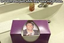 Haha!  Funny! / by Teri Kent