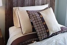 A place to lay my head / Pillows, bedding, a great bedroom / by Denise Lachinski