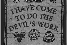 do not come here  /    I have come to the devil's work    / by Danıel Portmann
