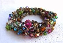 CROCHET BRACELETS / by Beverly Sadler Majkut