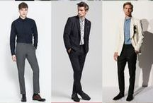 no belts with suits / Suits are tailored clothing.  Your pants should fit well enough that they don't need to be held up by a belt. / by Danıel Portmann