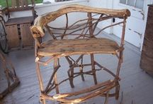 RusticMount'nMagic Design / Woodwork that I find beautiful and inspiring. Rustic, twig, stick, barnwood, willow, Adirondack, willow, primitive, raw edge, garden, yard, home, etc. Please follow the other, more specific, Mountain Magic Rustic pages. / by Frank Leahy