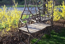 RusticMount'nMagic Chairs / Chairs, benches and stools. Stick, root, log and board. Everything I can find unedited. / by Frank Leahy