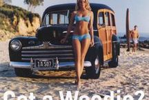 Classic Woody Automobiles / by David Clark