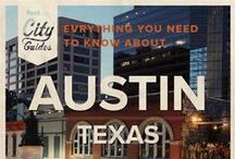 Austin Living / Whether your new to the city or just visiting, Rent.com tells you what to do in Austin. From where to go for happy hour to the best dog parks, check out what Austin, Texas has to offer. / by Rent.com