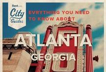 Atlanta Living / Whether your new to the city or just visiting, Rent.com tells you what to do in Atlanta. From where to go for happy hour to the best dog parks, check out what Atlanta, Georgia has to offer. / by Rent.com